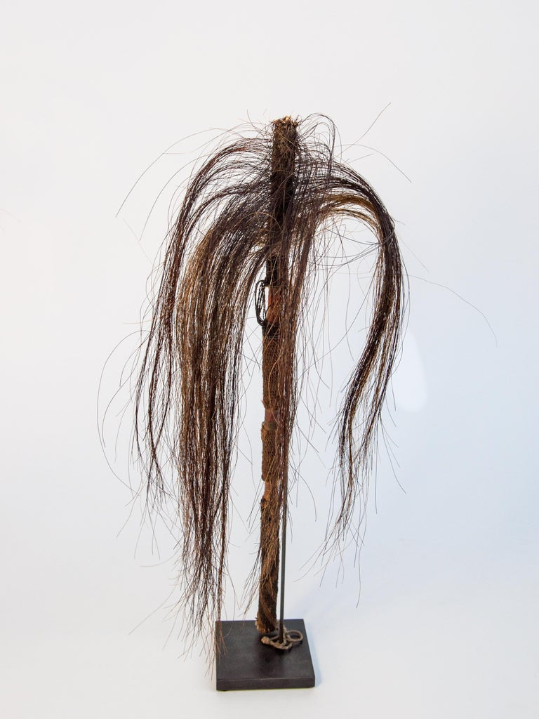 Other Pair of Horsehair Fly Whisks, Yi of Yunnan, China, Early to Mid-20th Century For Sale
