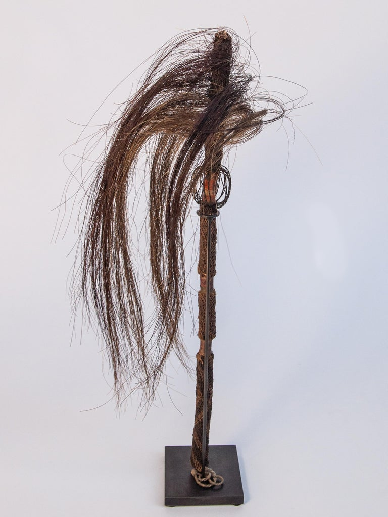 Pair of Horsehair Fly Whisks, Yi of Yunnan, China, Early to Mid-20th Century For Sale 1