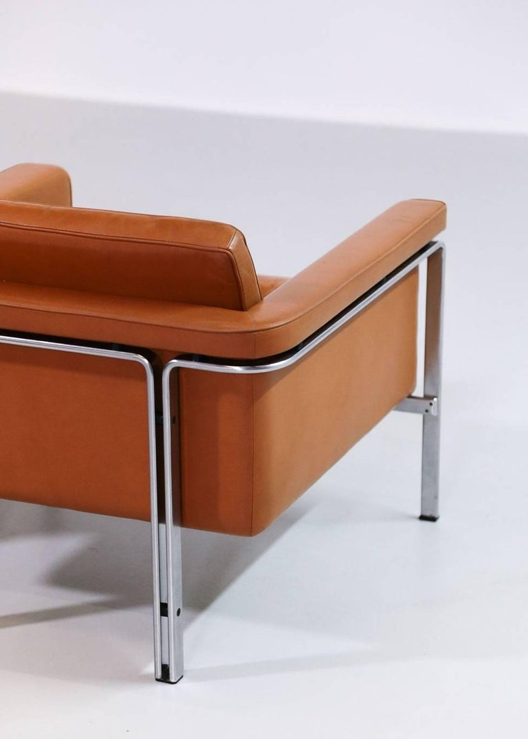 Pair of Horst Brüning Lounge Chairs for Alfred Kill International For Sale 3