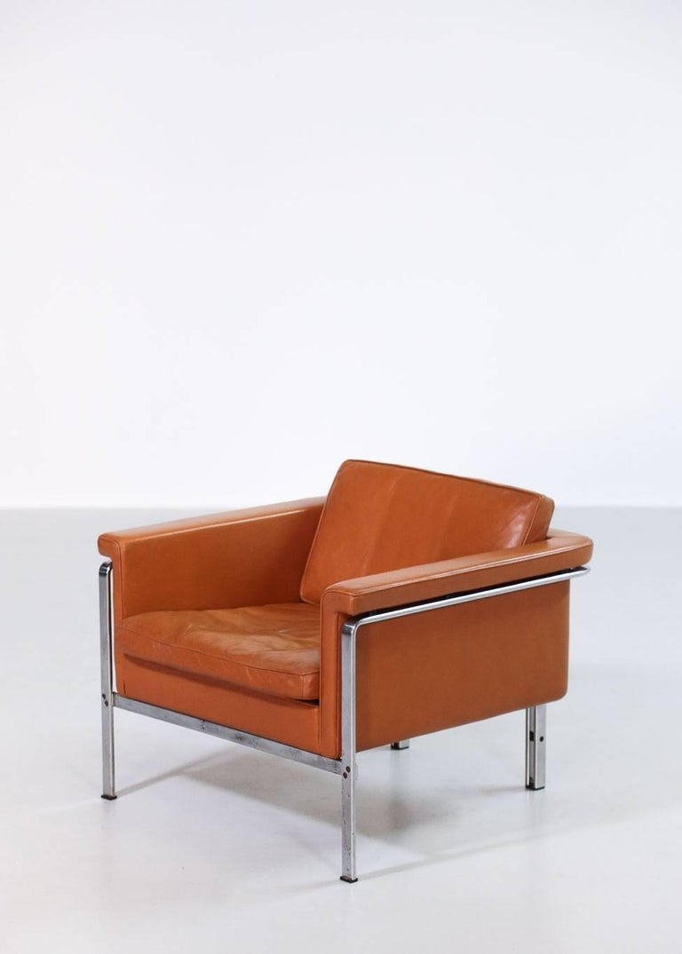 Pair of Horst Brüning Lounge Chairs for Alfred Kill International For Sale 6