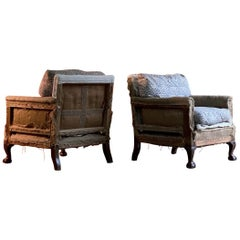 Pair of Howard and Sons 'Ingleby' Armchairs, 19th Century, circa 1880