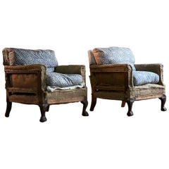 Pair of Howard and Sons 'Ingleby' Armchairs 19th Century, circa 1880