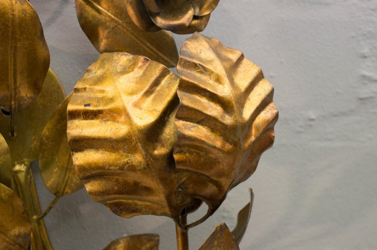 Pair of Huge Hollywood Regency Double Wall Lights by Hans Kögl, Germany, 1970s For Sale 3