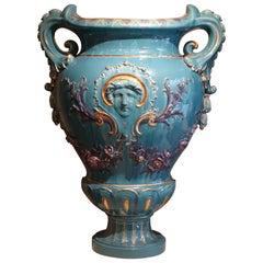 Pair of Huge Medicis Vases ,France, circa 1890