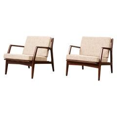 Pair of Ib Kofod-Larsen Lounge Chairs