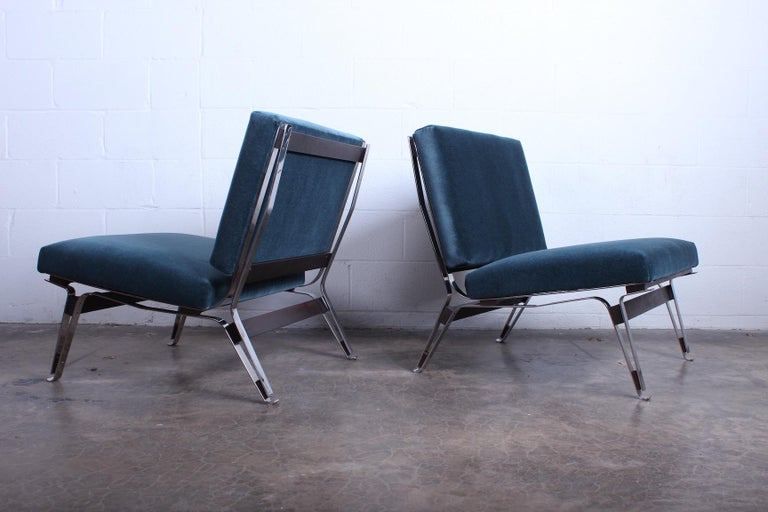 Pair of Ico Parisi 856 Lounge Chairs for Cassina For Sale 5