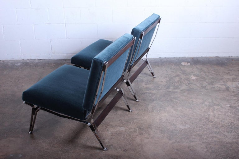 Pair of Ico Parisi 856 Lounge Chairs for Cassina For Sale 8