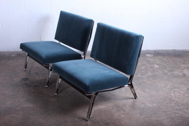 Pair of Ico Parisi 856 Lounge Chairs for Cassina For Sale 9