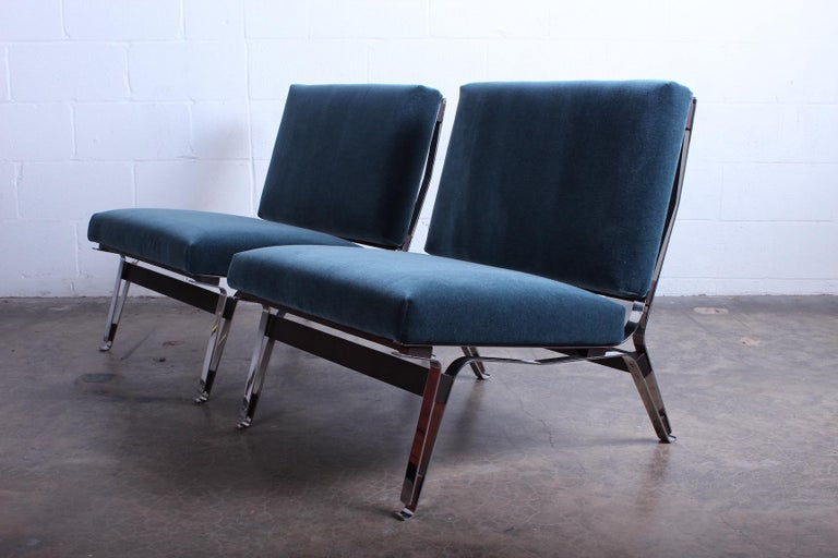 Pair of Ico Parisi 856 Lounge Chairs for Cassina For Sale 10