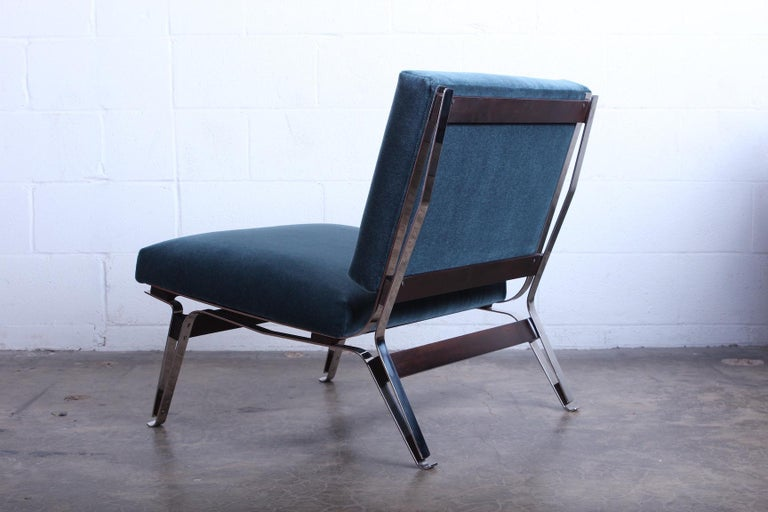 Pair of Ico Parisi 856 Lounge Chairs for Cassina For Sale 1