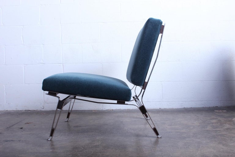 Pair of Ico Parisi 856 Lounge Chairs for Cassina For Sale 2