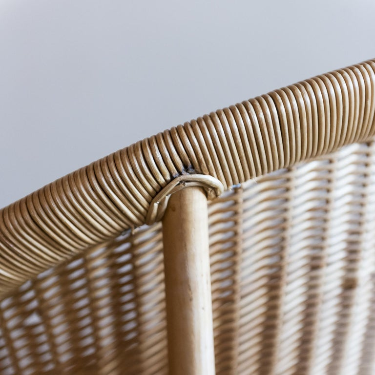 Pair of Iconic Basket Chairs by Nanna Ditzel, Denmark, 1950s For Sale 4
