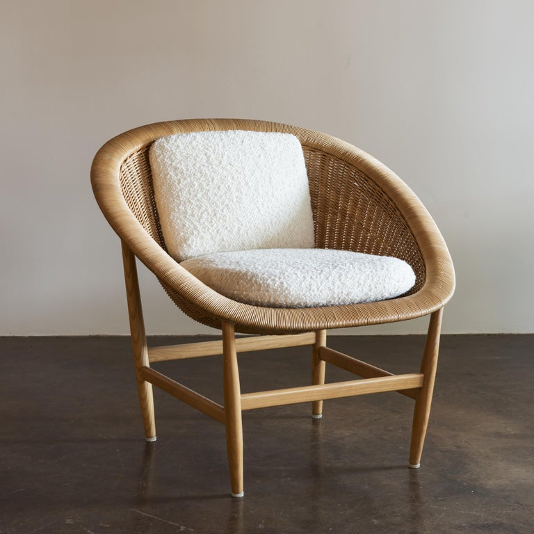 Pair of Iconic Basket Chairs by Nanna Ditzel, Denmark, 1950s For Sale 5