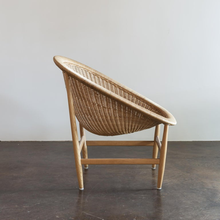 Pair of Iconic Basket Chairs by Nanna Ditzel, Denmark, 1950s In Good Condition For Sale In Santa Fe, NM