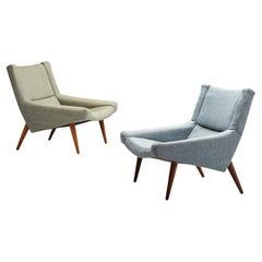 Pair of Illum Wikkelsø Lounge Chairs Model '50'