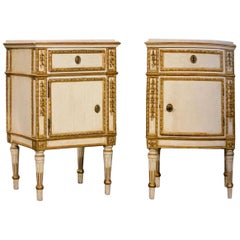 Pair of Important Louis XVI Chest of Drawers with Provenance, Venice, 1780-1790