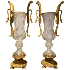 Pair of Impressive French Louis XV Vases