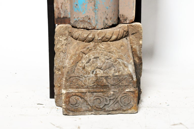 Pair of Indian Columns 4
