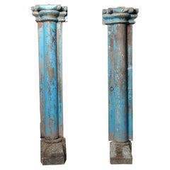 Pair of Indian Columns