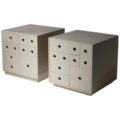 "Pair of ""Indro"" Storage Unit by Paolo Tommasi by Delta"