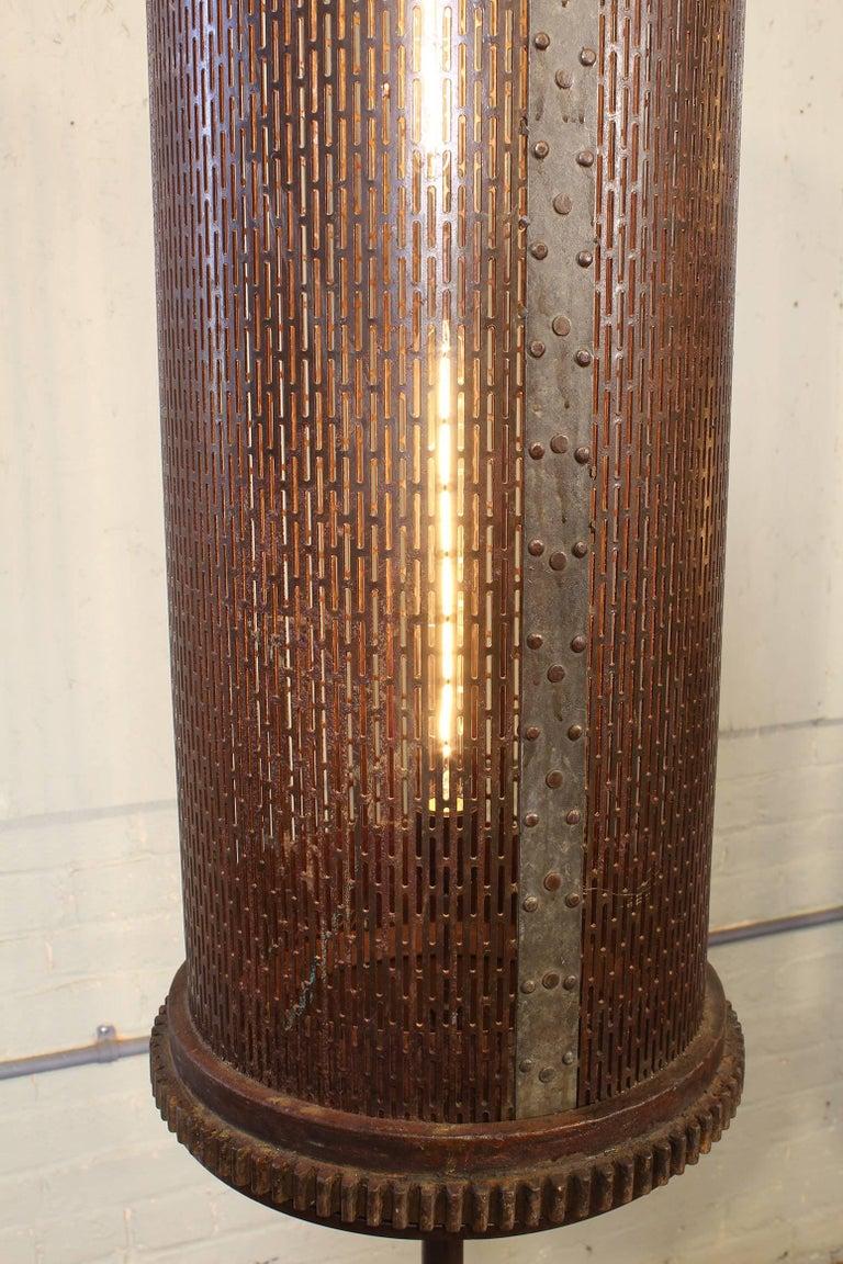 6' Industrial Floor Lamps For Sale 2