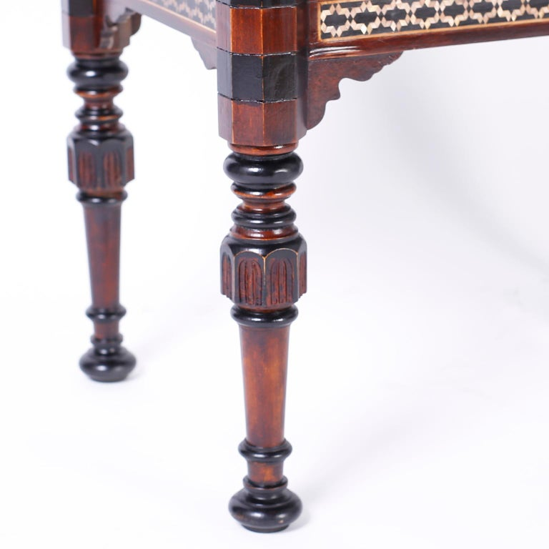 Pair of Inlaid Syrian Tables For Sale 2