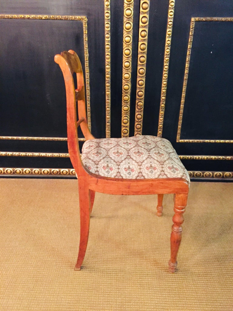 Pair of Interesting Biedermeier Chairs, circa 1840 For Sale 5