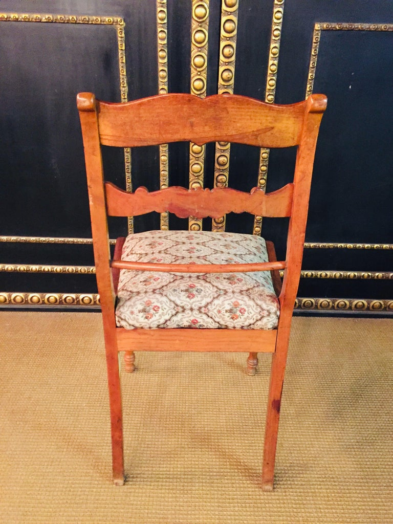 Pair of Interesting Biedermeier Chairs, circa 1840 For Sale 6
