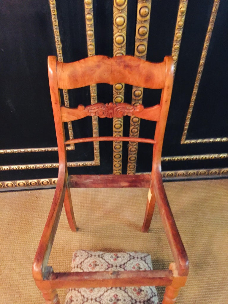 Pair of Interesting Biedermeier Chairs, circa 1840 For Sale 10