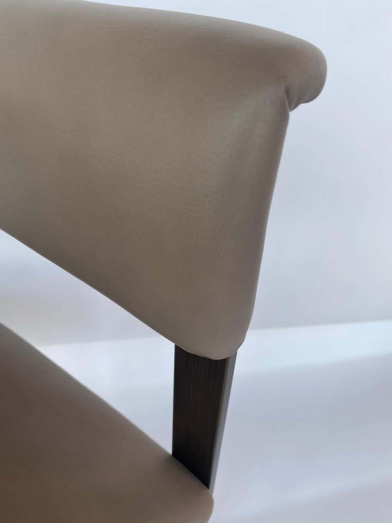 Pair of Interlude Home Darcy Dining Chairs In Excellent Condition For Sale In Los Angeles, CA