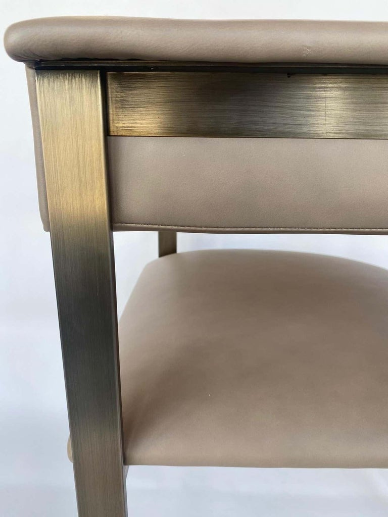 Pair of Interlude Home Darcy Dining Chairs For Sale 1