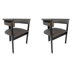 Pair of Interlude Home Darcy Dining Chairs