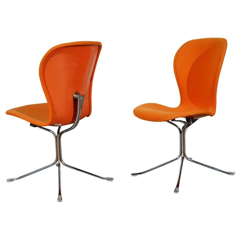 Pair of Ion Chairs For Sale
