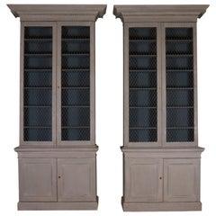 Pair of Irish Bookcases