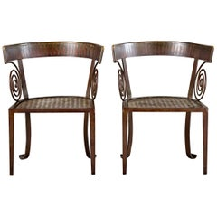 Pair of Iron Chairs
