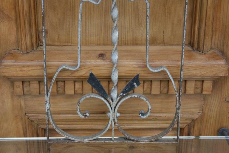 Pair of Iron Door or Window Grills For Sale 1