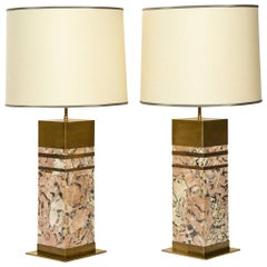 "Pair of ""Irusia"" Table Lamps by Arriau"