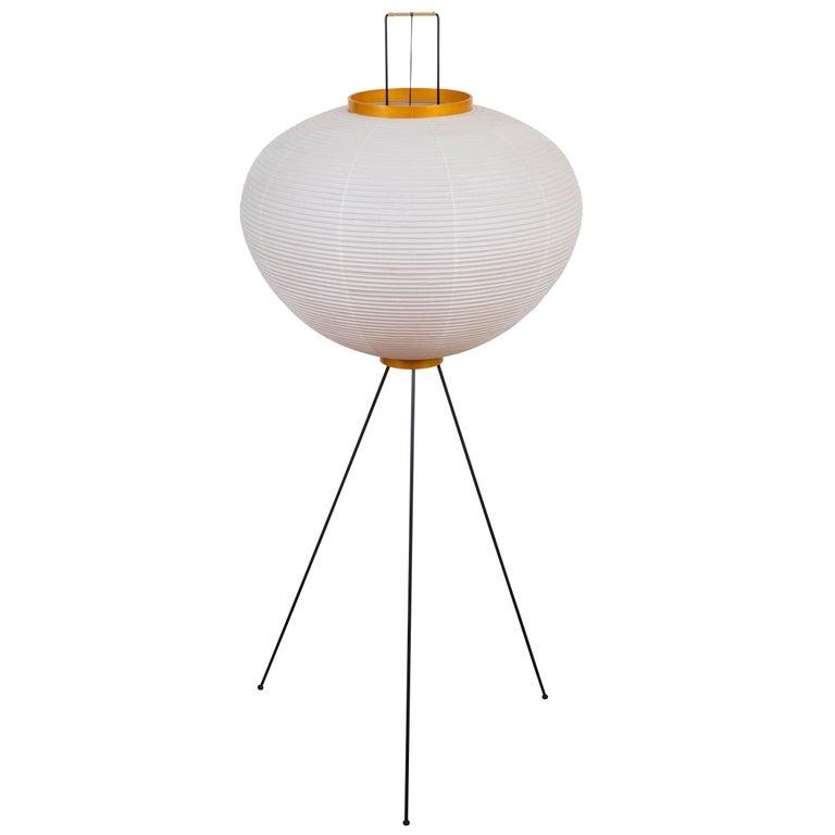 Pair of Isamu Noguchi Akari 10A Floor Lamps For Sale at ...