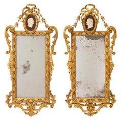 Pair of Italian 18th Century Louis XVI Period Mirrors