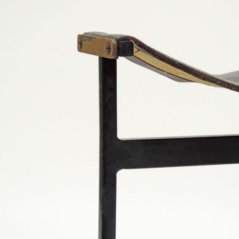 Mid-Century Modern Pair of Italian 1960s Stools For Sale