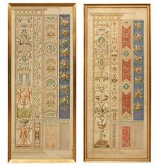 Pair of Italian 19th Century Architectural Prints