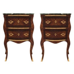Pair of Italian 19th Century Louis XV Style Side Tables
