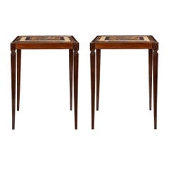 Pair of Italian 19th Century Louis XVI St. Side Tables