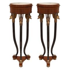 Pair of Italian 19th Century Neoclassical St. Pedestals