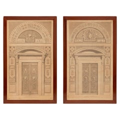 Pair of Italian 19th Century Neoclassical St. Prints
