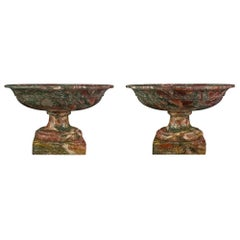 Pair of Italian 19th Century Neoclassical Style Tazzas
