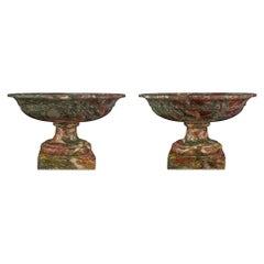 Pair of Italian 19th Century Neoclassical Style Tazzas
