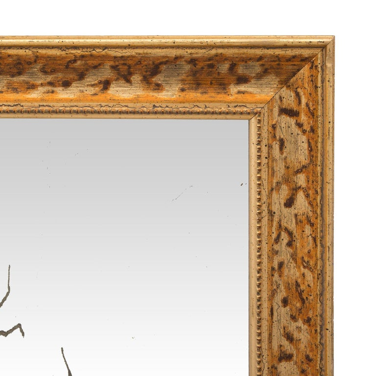 Pair of Italian 19th Century Venetian Etched Mirror Plates For Sale 3