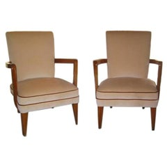 Pair of Italian 40s Armchairs