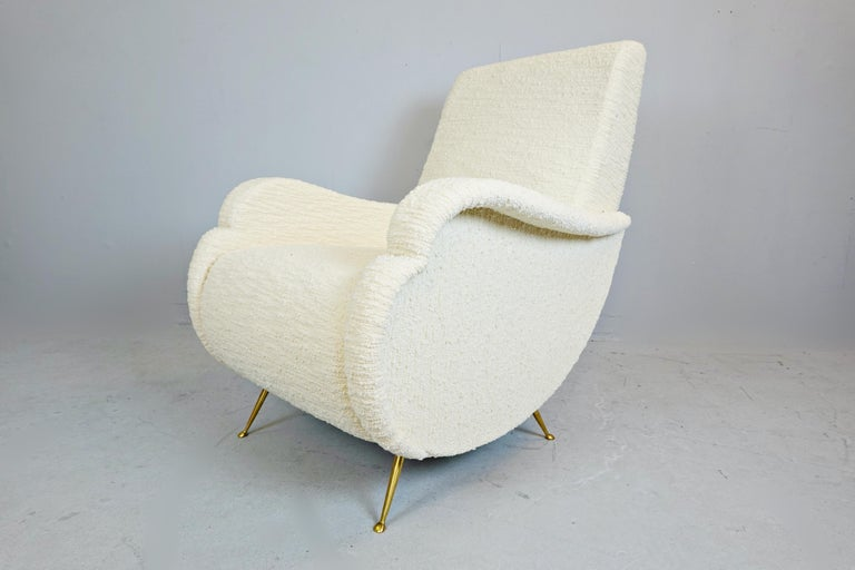 Pair of Italian Armchairs In Good Condition For Sale In Brussels, BE